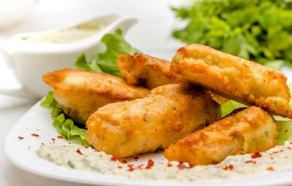 Минтай в кляре - пошаговые рецепты приготовления кляра и рыбы на сковороде или в духовке с фото