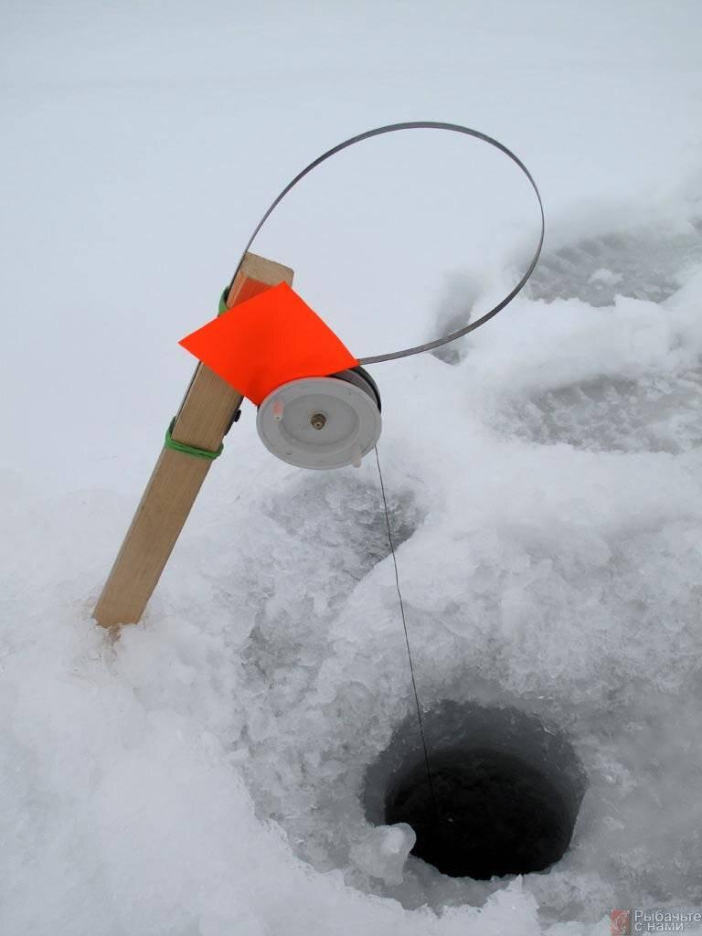 Ловля щуки на жерлицы на зимней рыбалке: как правильно ставить (схема)