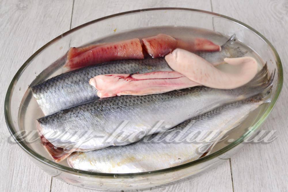 Вкусные варианты вымачивания засоленной рыбы