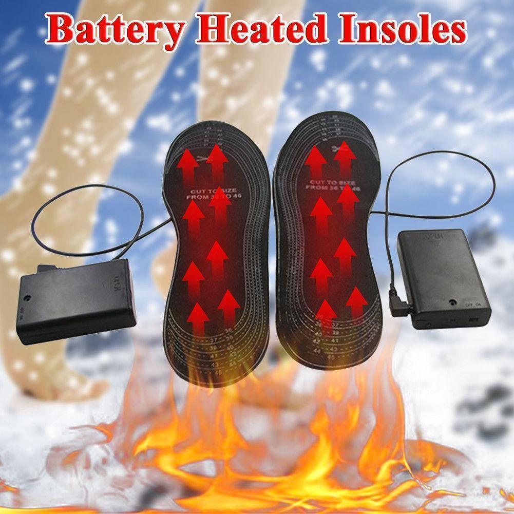 Стельки с подогревом для обуви, электрические и химические, отзывы