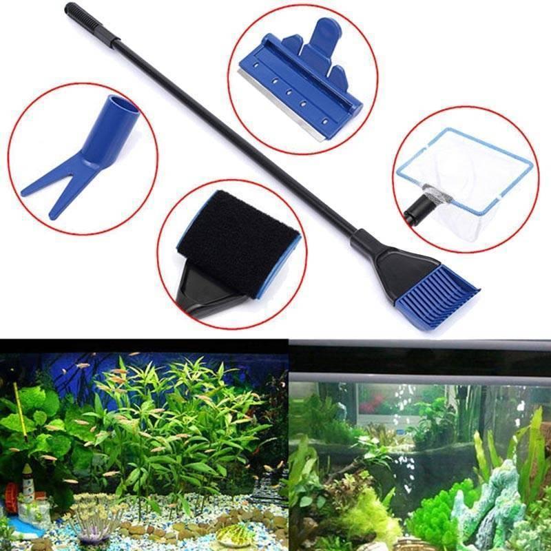 Как чистить аквариум правильно