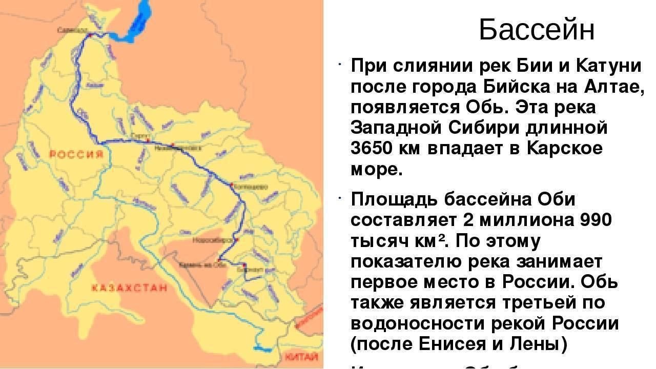 Река катунь на карте алтайского края - oreke.ru