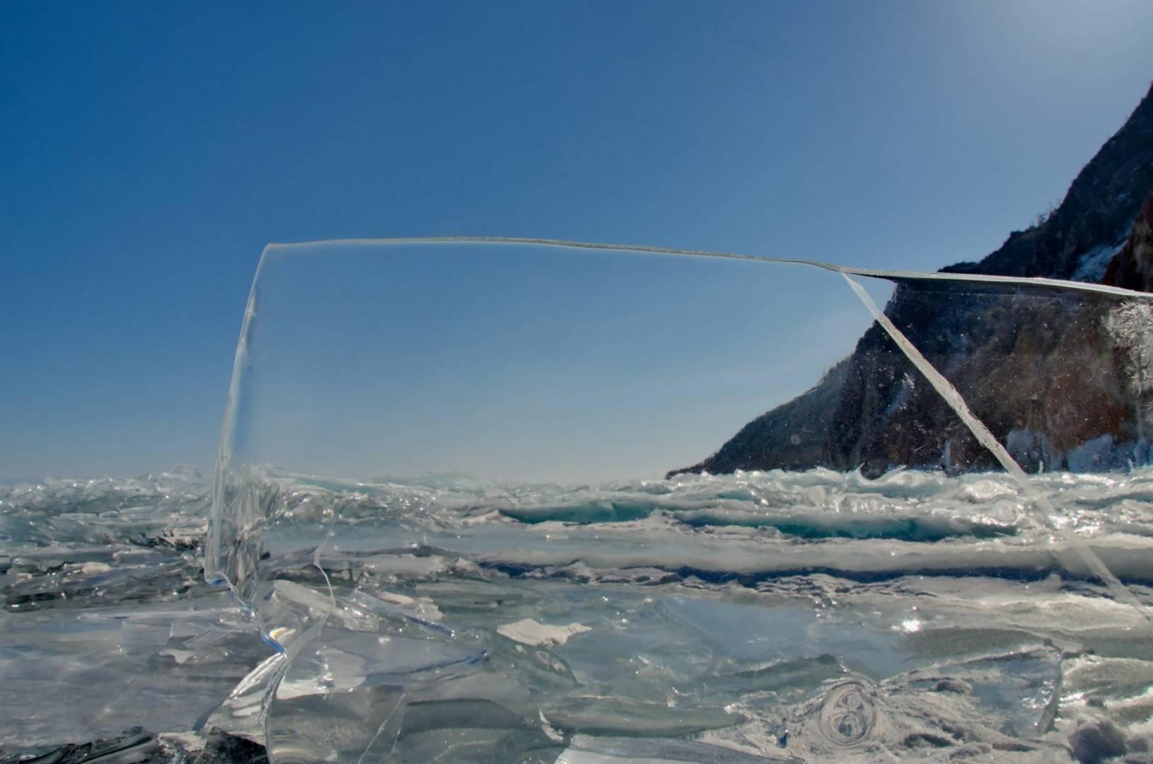 Толщина льда на байкале 2020