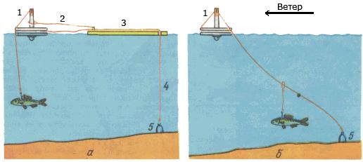Ловля щуки на кружки: конструкция оснастки