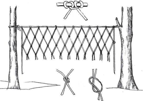 Как плести сеть, плетение рыболовных сетей в домашних условиях