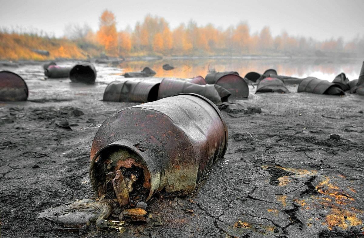 Современная экологическая ситуация в россии