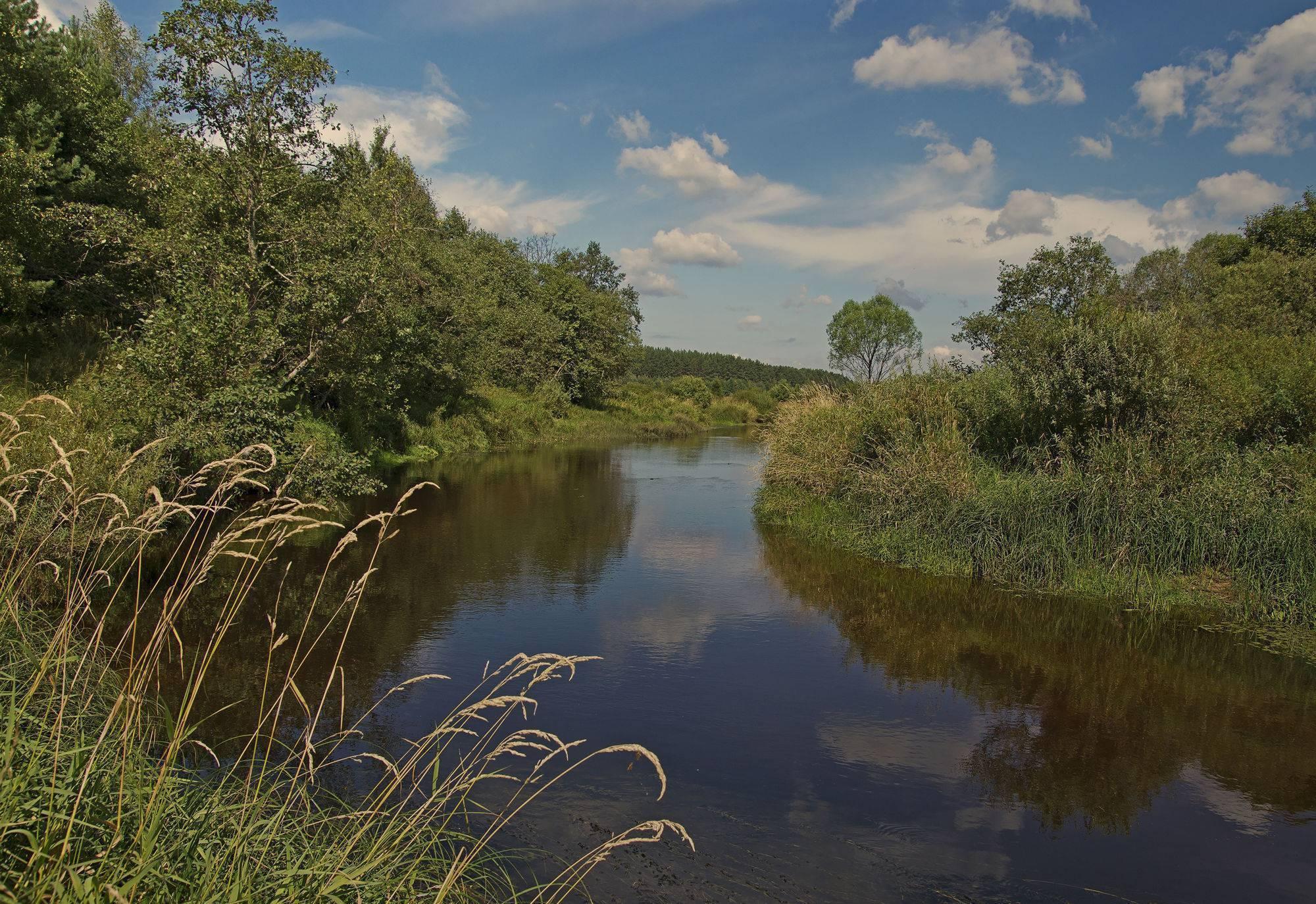 30 крупнейших рек тверской области