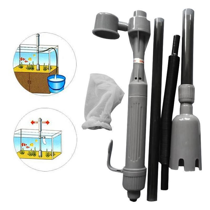 5 электрических аквариумных сифонов для чистки аквариума с алиэкспресс | аквариумные рыбки