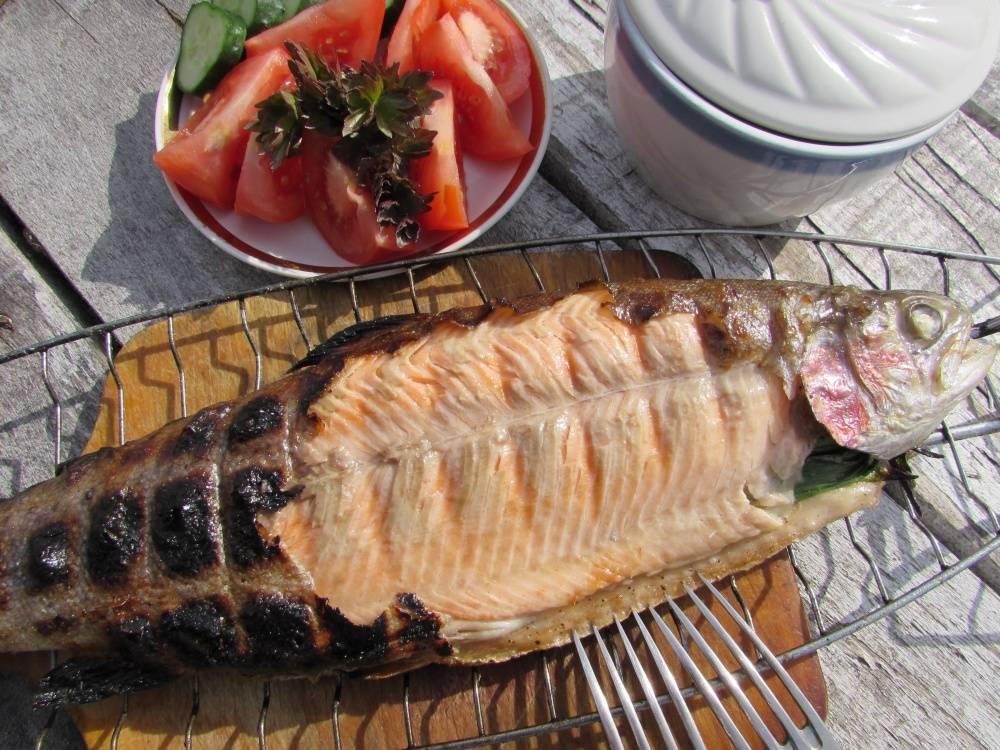 Форель на гриле – невероятно вкусное блюдо для пикника!