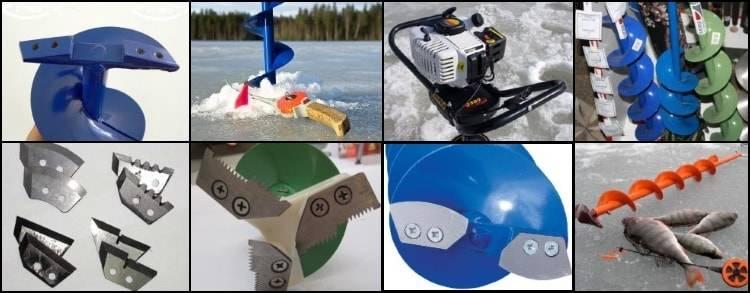 Ледобур: как наточить титановые ножи для зимней рыбалки? чем бензиновый бур для льда отличается от электрического? как лучше перевозить: в чехле или тубусе?