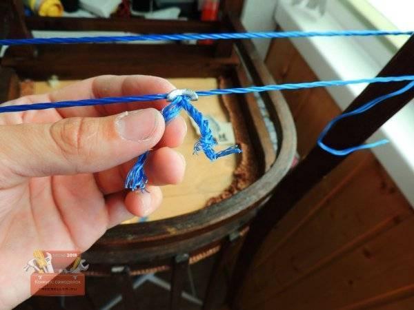Как сделать самозатягивающуюся петлю для веревки