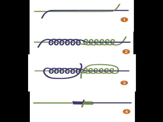 Как связать две лески - 95 фото надежных способов и схем как соединить две лески
