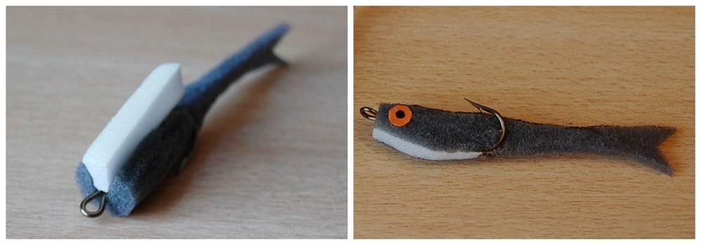 Об изготовлении поролоновой рыбки
