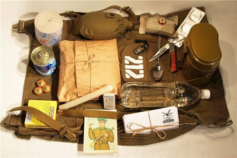 Набор для выживания: описание необходимых инструментов и предметов первой необходимости