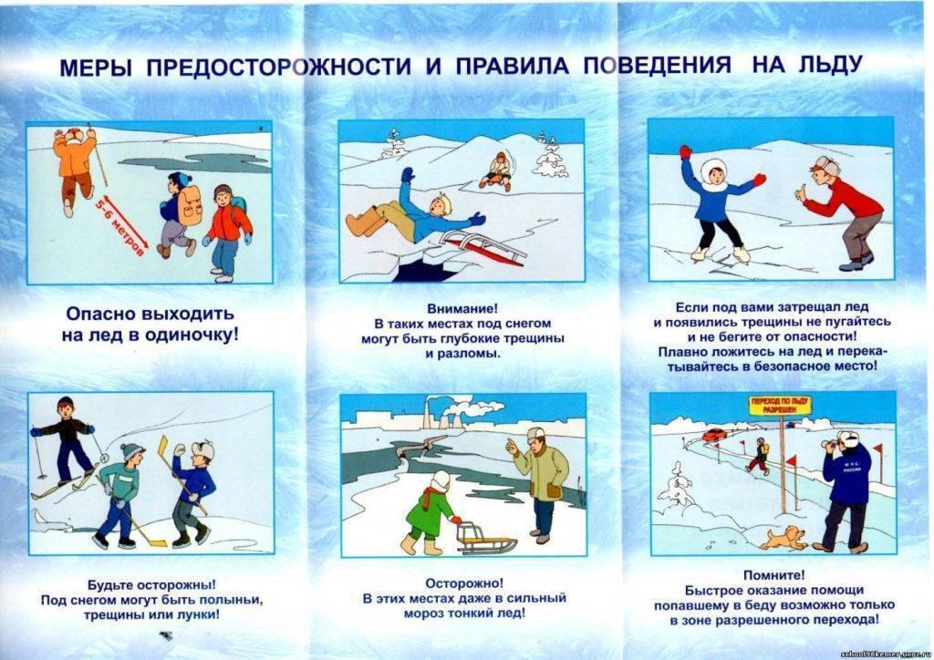 Памятка населению о правилах поведения на льду водоема   контент-платформа pandia.ru