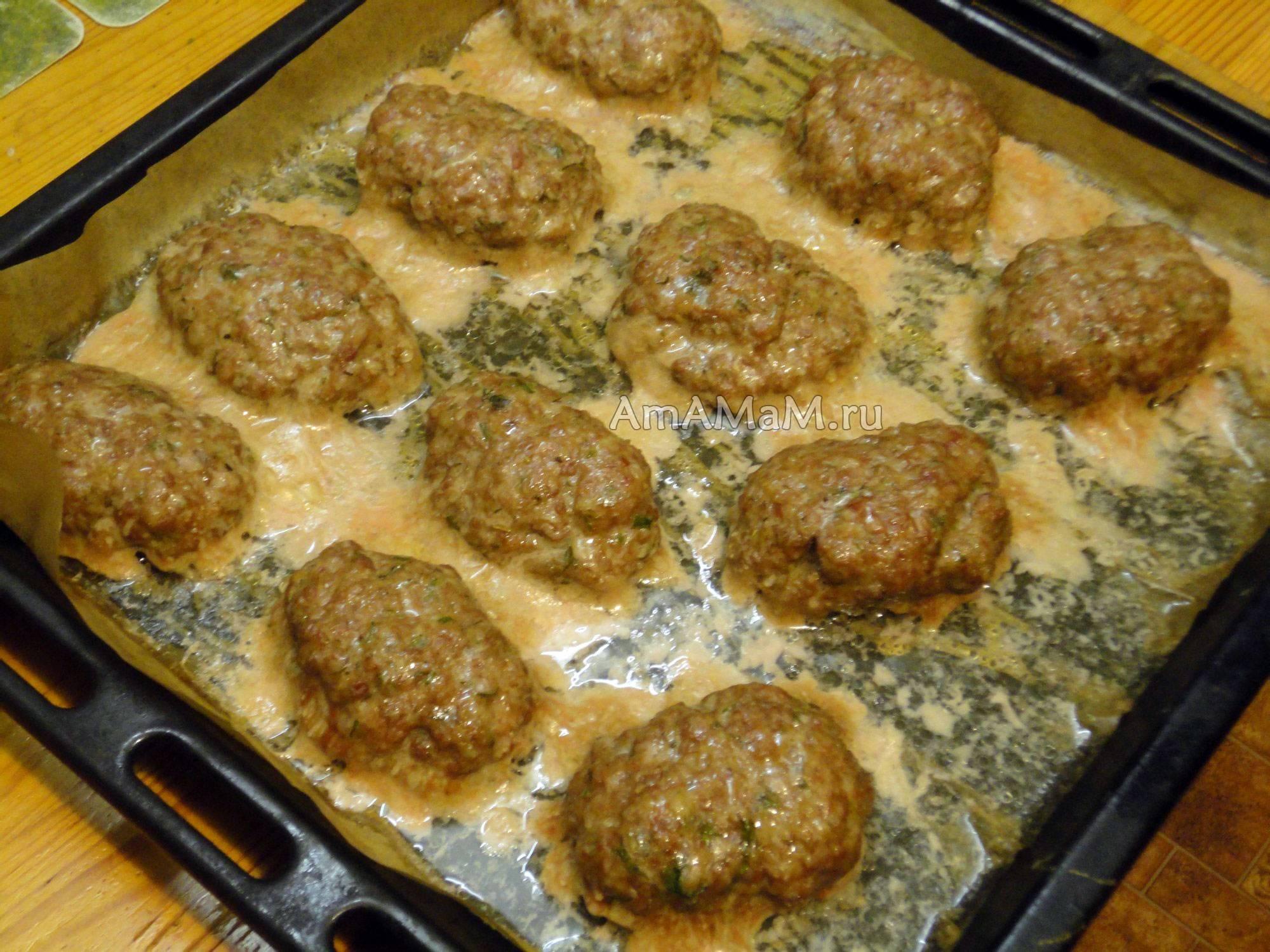 Котлеты из говядины в духовке - 2 вкусных рецепта