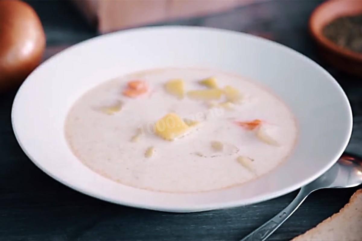 """Финский лососевый суп со сливками """"лохикейтто"""" – кулинарный рецепт"""