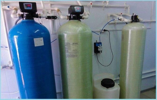 Виды фильтров для смягчения жесткой воды из скважины и их правильный выбор