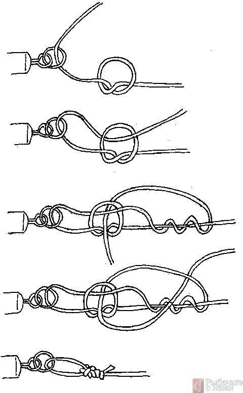 Как правильно привязать вертлюжок к леске из флюрокарбона и плетенки