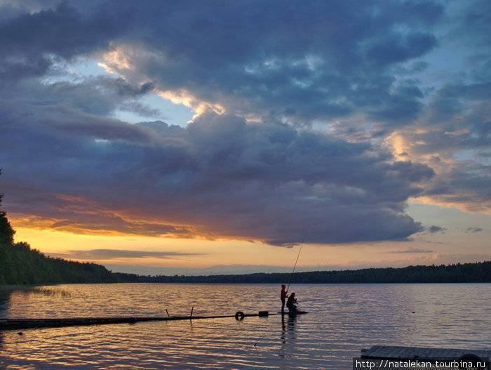 Череменецкое озеро — что это такое