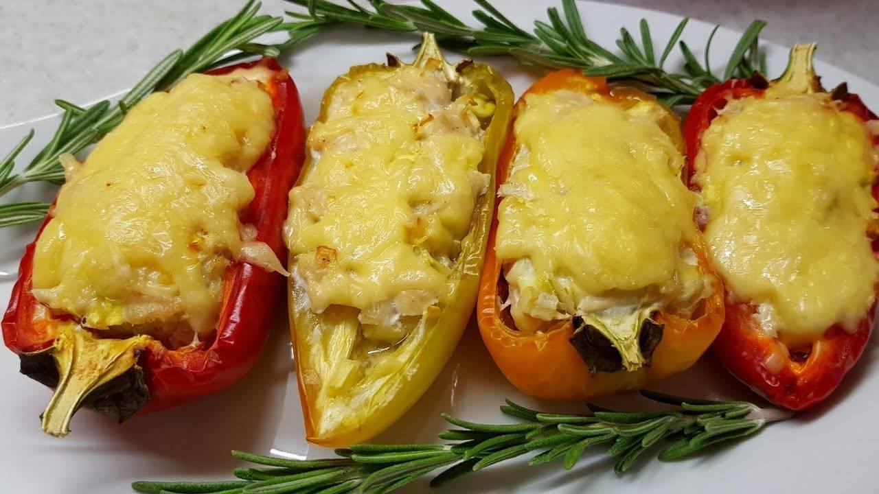 Перец фаршированный мясом и рисом в духовке - 5 рецептов с фото пошагово