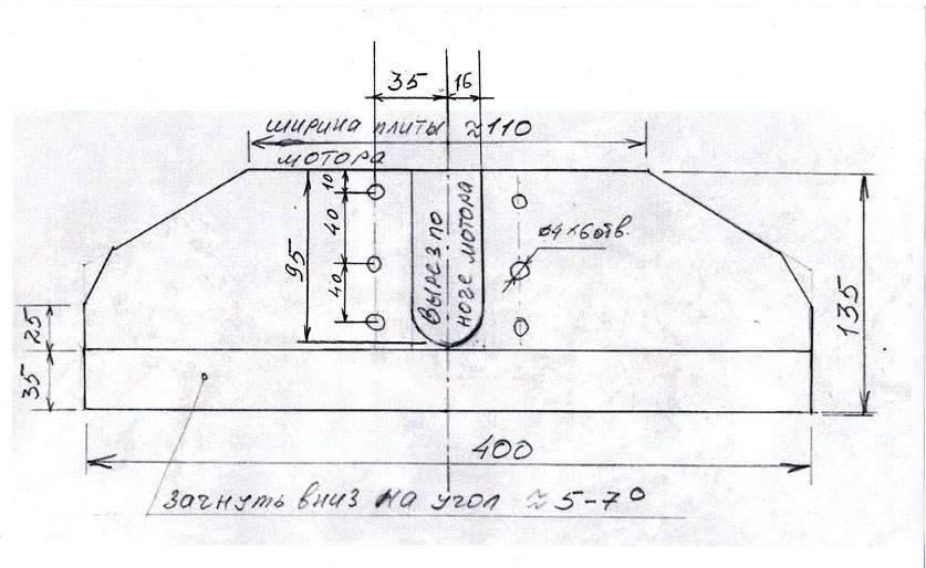Гидрокрыло на лодочный мотор своими руками: видео инструкция