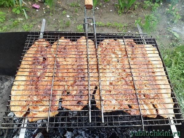 Маринады для шашлыка из рыбы