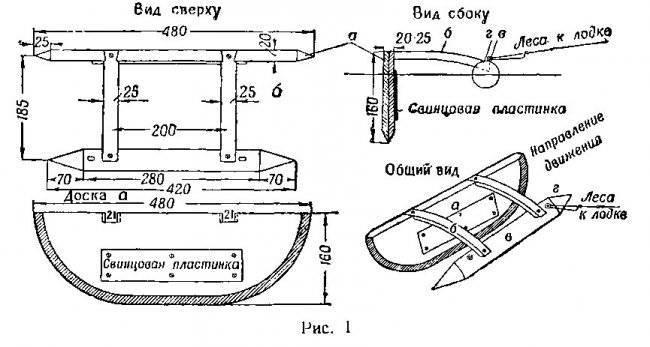 Кораблик для рыбалки: пошаговая инструкция по изготовлению с фото