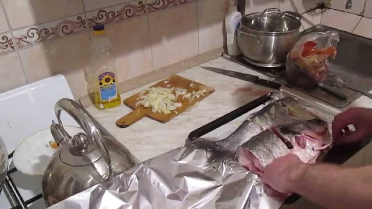 Как запечь толстолобика в духовке кусочками