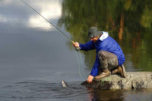 Рыбалка в карелии весной