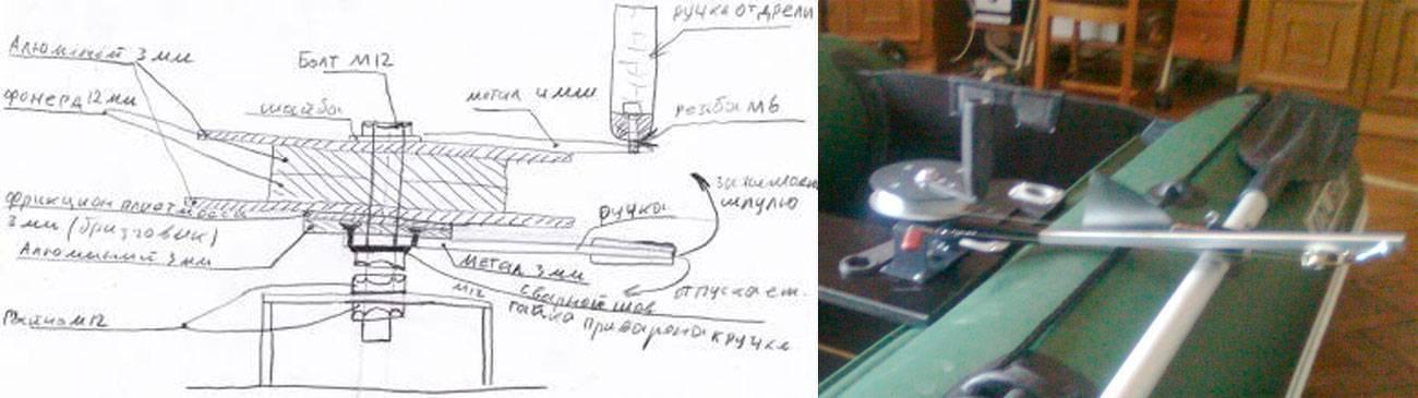 Изготовление даунриггера: материалы и комплектующие, пошаговая инструкция сборки снасти своими руками