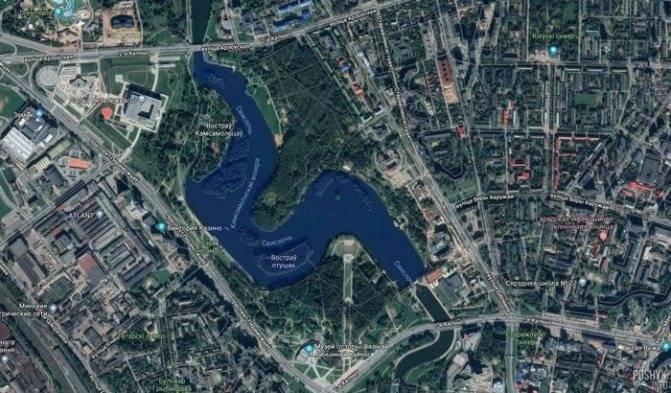 Реки и водоемы минска. история и расположение на карте