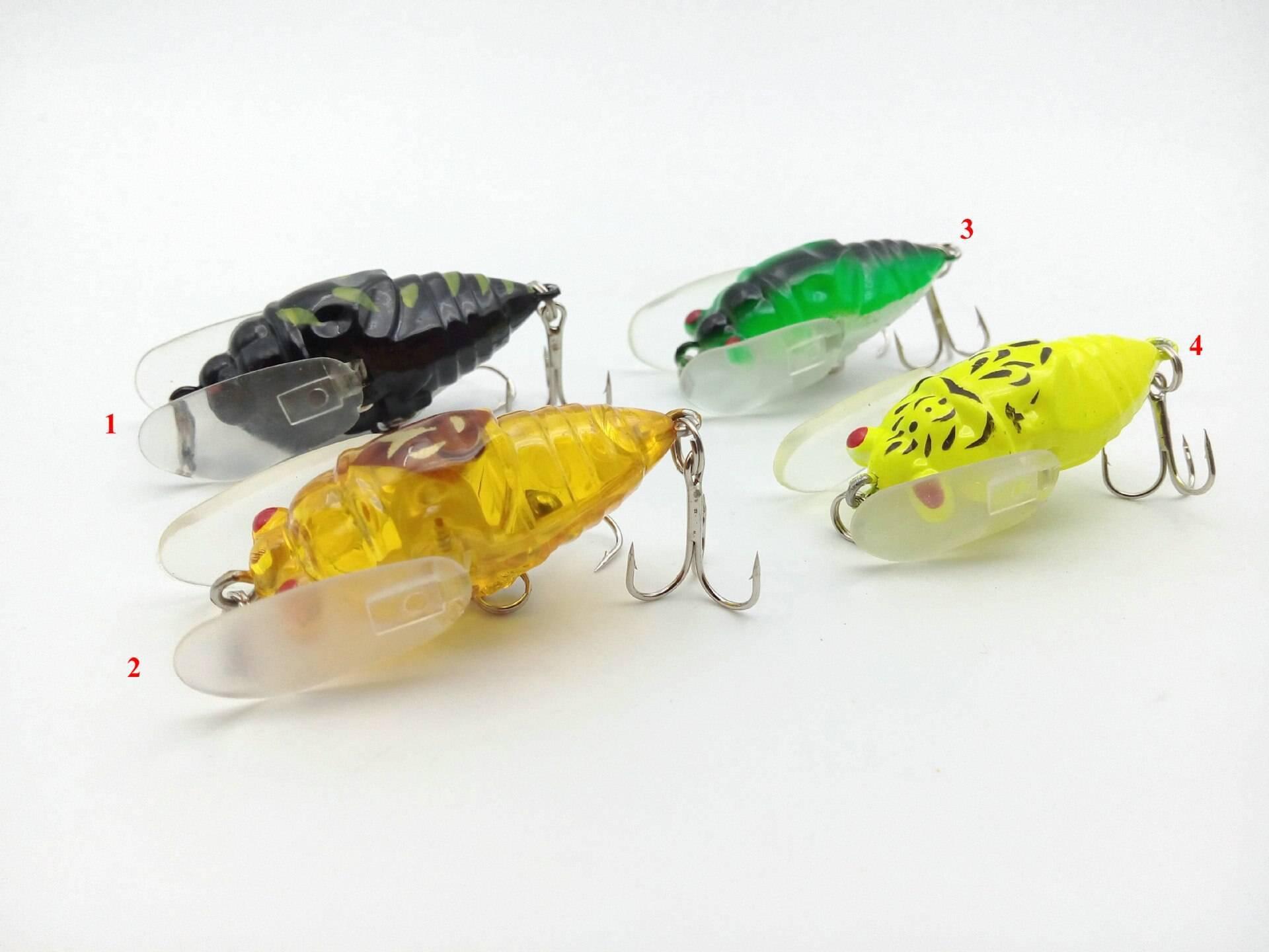Спиннинговая приманка цикада(блейдбейт)