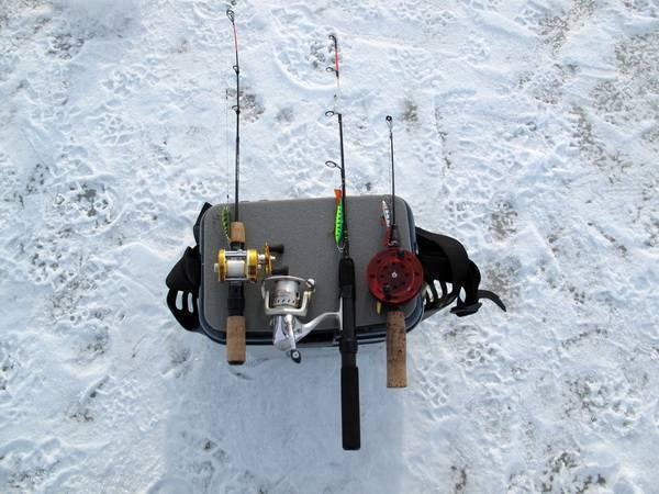 Ловля на балансир зимой