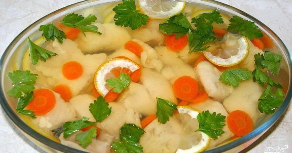 Заливное из щуки с желатином и без — как приготовить по пошаговым рецептам с фото