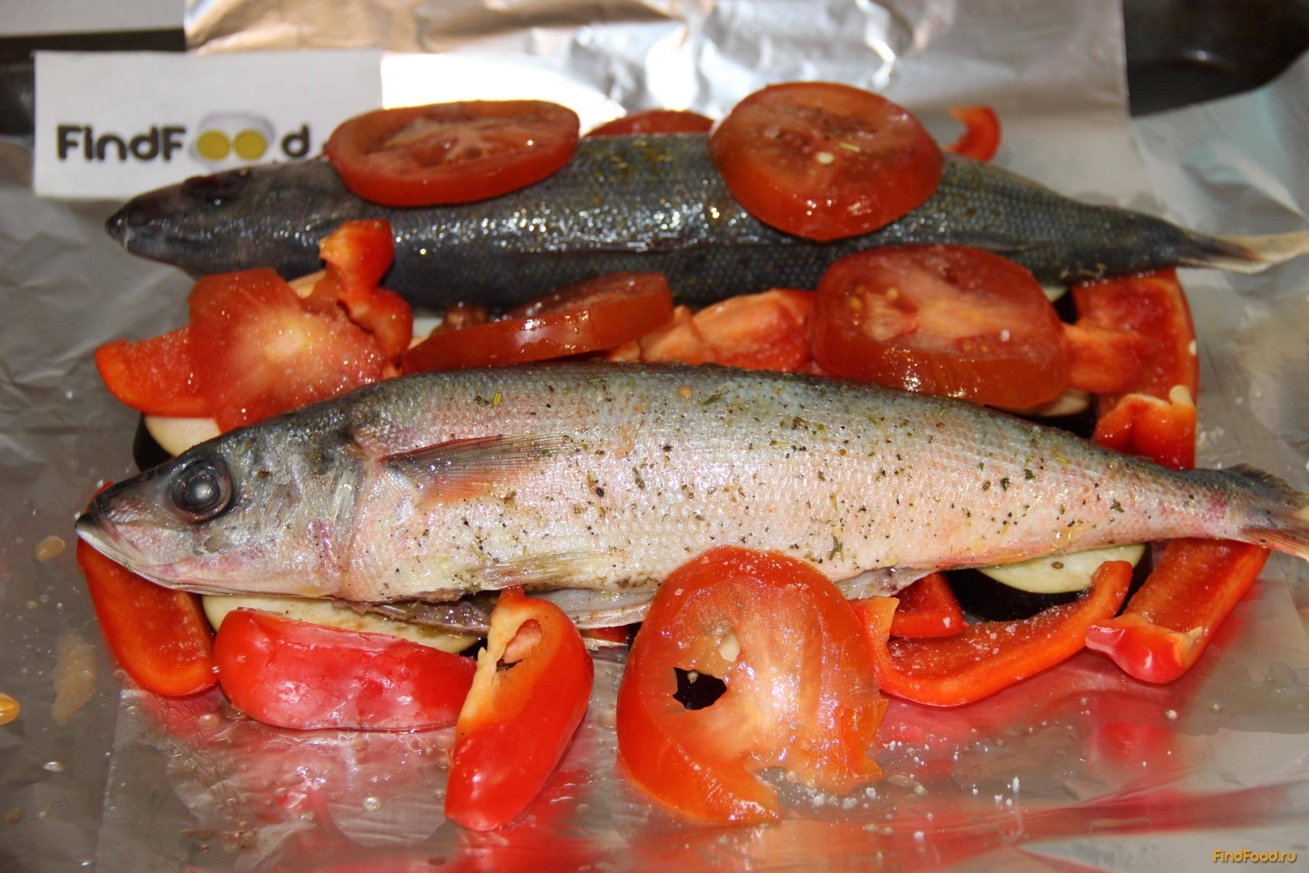Рыба с овощами в томатном соусе - 8 пошаговых фото в рецепте