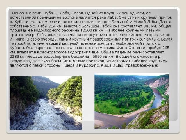 Река кубань в россии