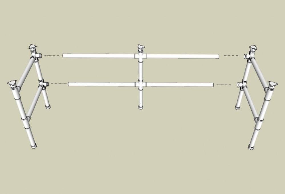 Поделки из труб: 90 фото и мастер-класс по изготовлению и обработке полезных вещей