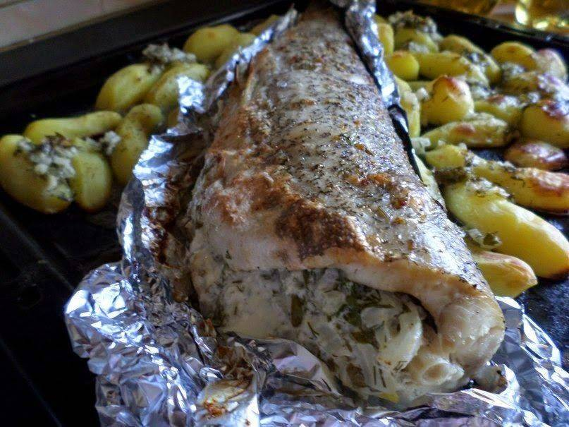Щука, запеченная в духовке: рецепты приготовления пошагово
