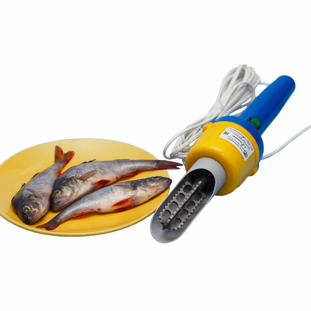 Виды ножей для чистки рыбы