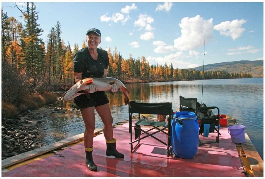 Тува: рыбалка на тайменя, ленка, хариуса