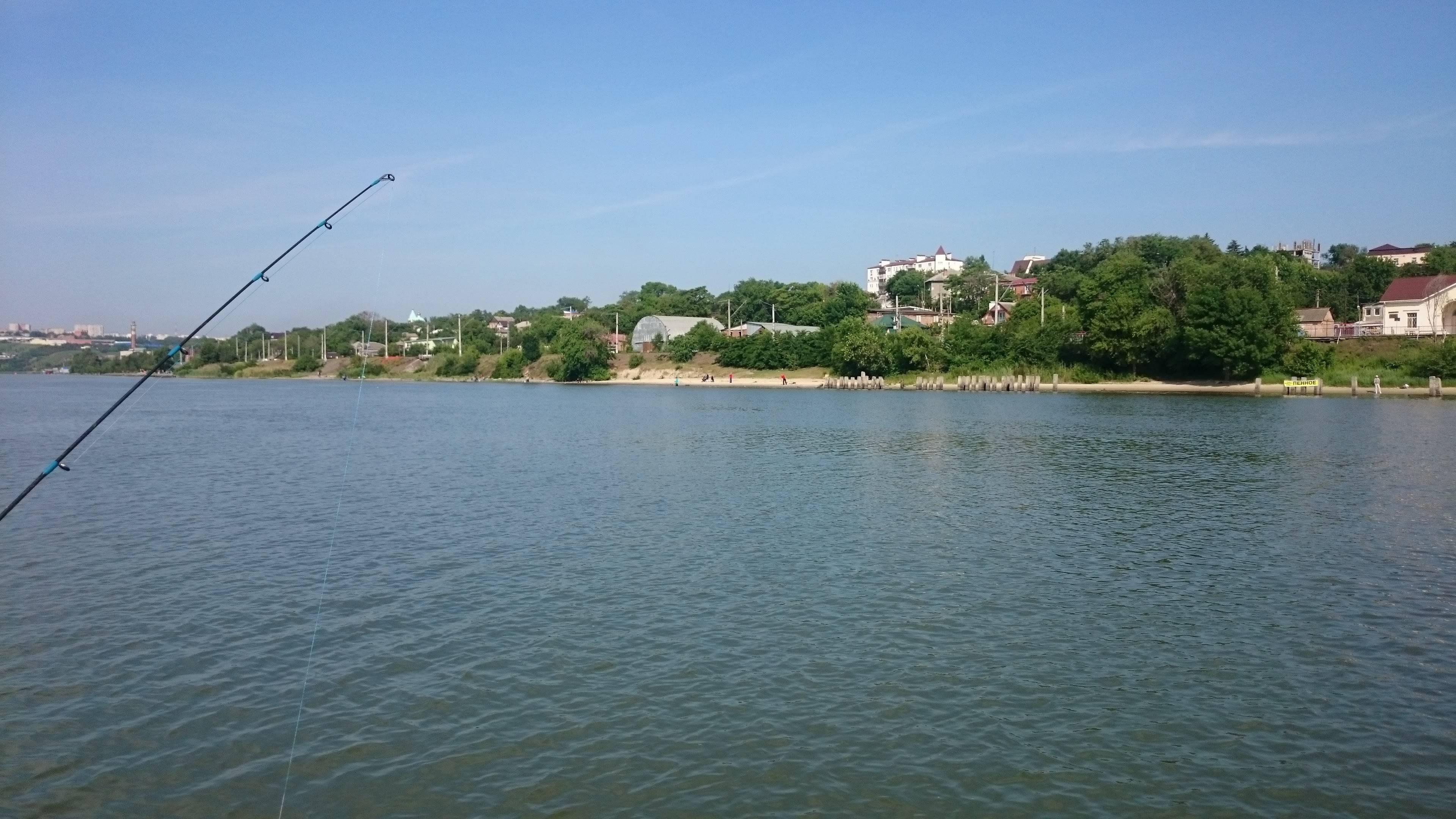 Места для рыбалки в ростовской области