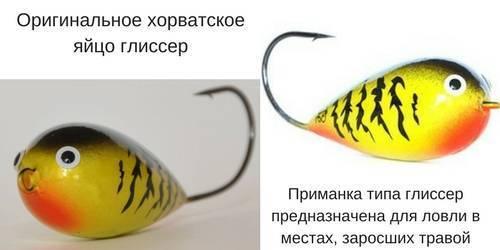 Хорватское яйцо на щуку — уловистая приманка глиссер для спиннинга