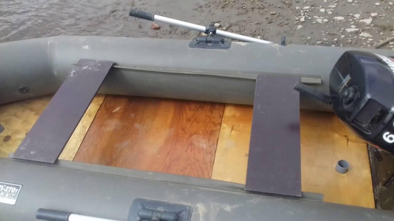 Слань на лодку пвх - материалы для изготовления, разновидности