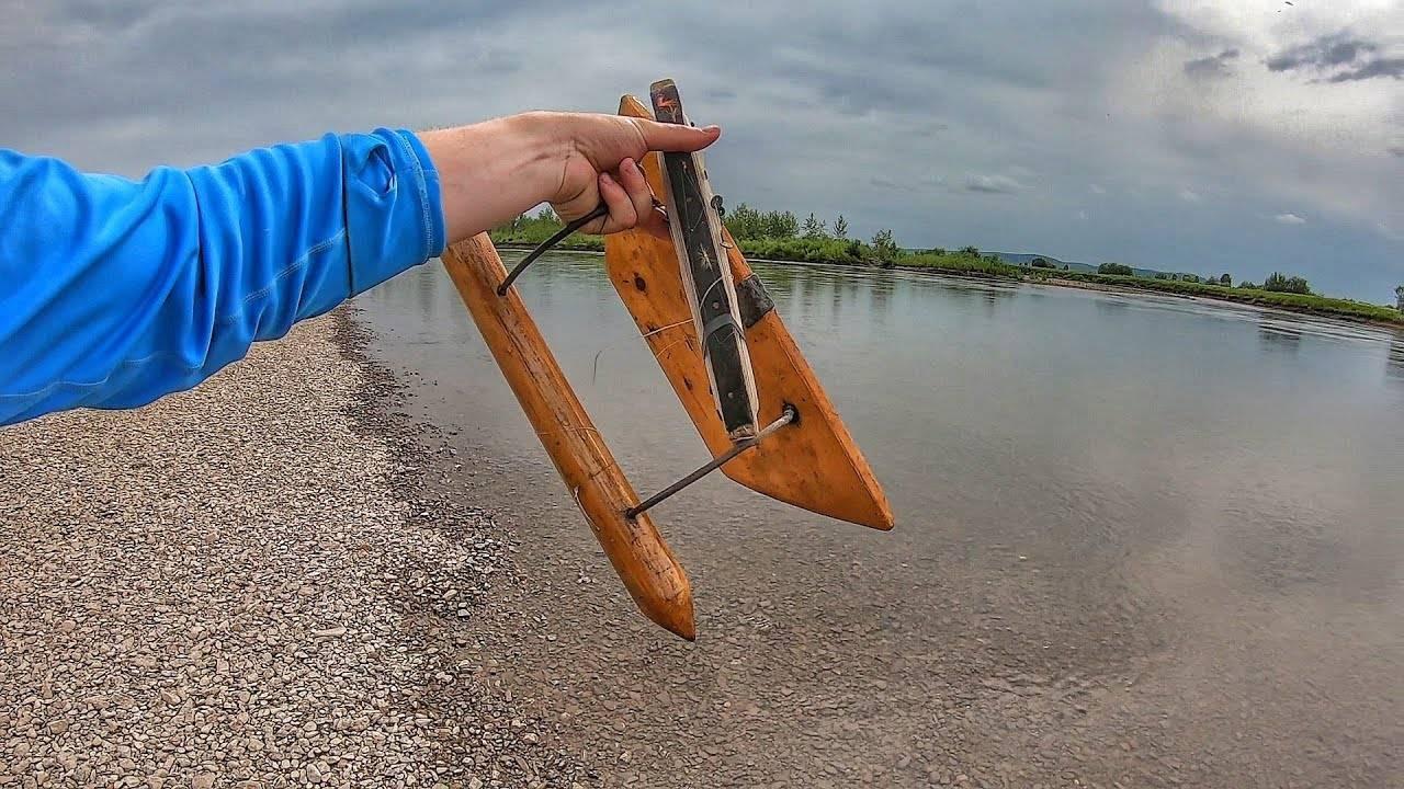 Водяной змей (кораблик): устройство, ловля