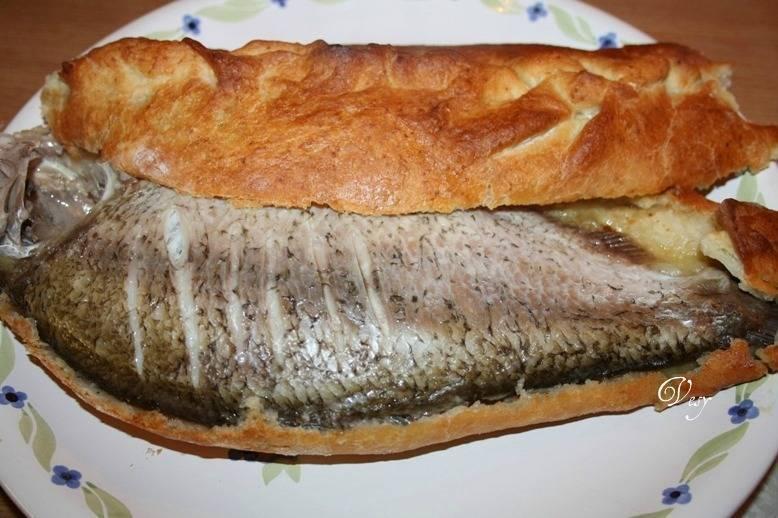 """Рыбный пирог """"сибирский"""" – кулинарный рецепт"""
