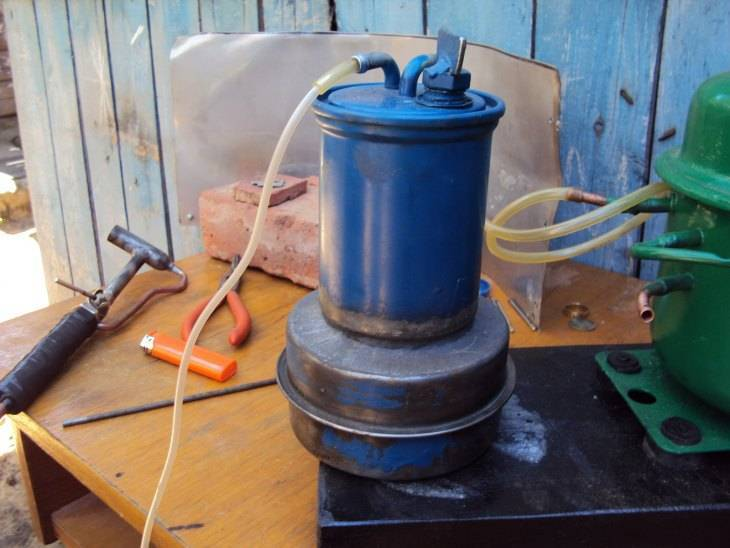Самодельная бензиновая горелка: устройство, принцип работы аппарата и преимущества при пайке и сварке металла