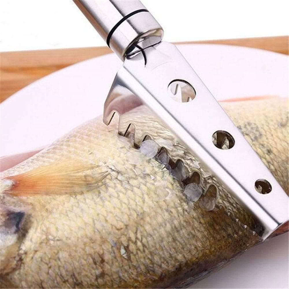 Чистилка для рыбы ручная, электрическая, как сделать своими руками, советы по чистке рыбы