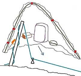 Зимняя палатка своими руками видео и чертежи - инженер пто