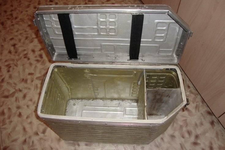Самодельный рыболовный ящик для ловли зимой
